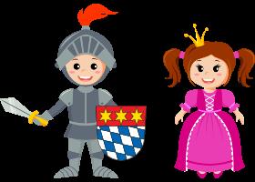 Ritter und Prinzessin | DingoBurg Dingolfing – Indoorspielplatz für Kinder