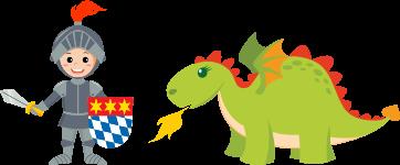Ritter Drache | DingoBurg Dingolfing – Indoorspielplatz für Kinder